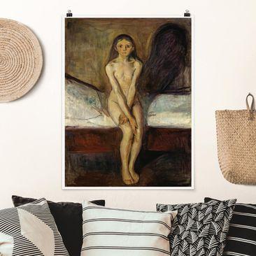 Produktfoto Poster - Edvard Munch - Pubertät - Hochformat 4:3