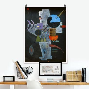 Produktfoto Poster - Wassily Kandinsky - Kreuzform - Hochformat 4:3