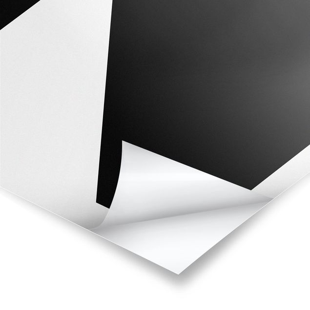 Produktfoto Poster - Antiqua Letter N - Hochformat 4:3