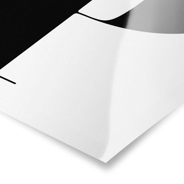 Produktfoto Poster - Antiqua Letter P - Hochformat 4:3