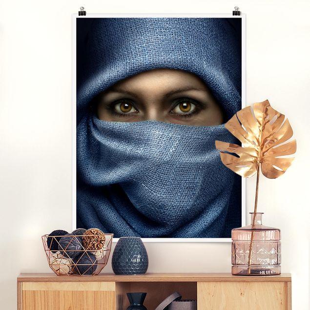 Produktfoto Poster - Oriental Beauty - Hochformat 4:3