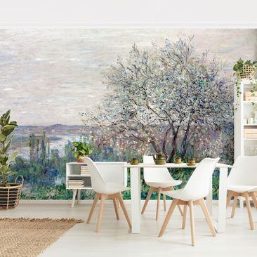 Produktfoto Tapete selbstklebend - Claude Monet - Frühlingsstimmung - Fototapete Querformat