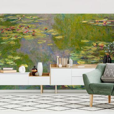 Produktfoto Tapete selbstklebend - Claude Monet - Grüne Seerosen - Fototapete Querformat