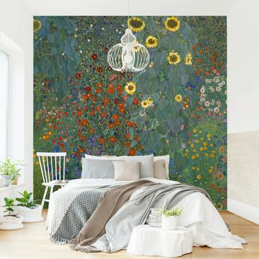 Product picture Photo Wall Mural - Gustav Klimt - Garden...