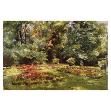 Immagine del prodotto Carta da parati Premium - Max Liebermann - Terrazza con fiori sul giardino