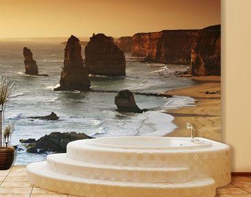 Produktfoto Sonnenuntergang Fototapete selbstklebend - Die zwölf Apostel von Australien