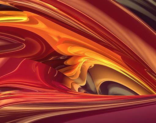 Produktfoto Selbstklebendes Wandbild Fantastic Burning