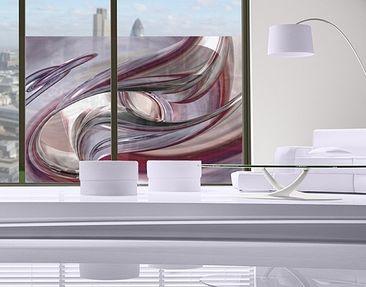 Produktfoto Fensterfolie - Sichtschutz Fenster Illusionary - Fensterbilder
