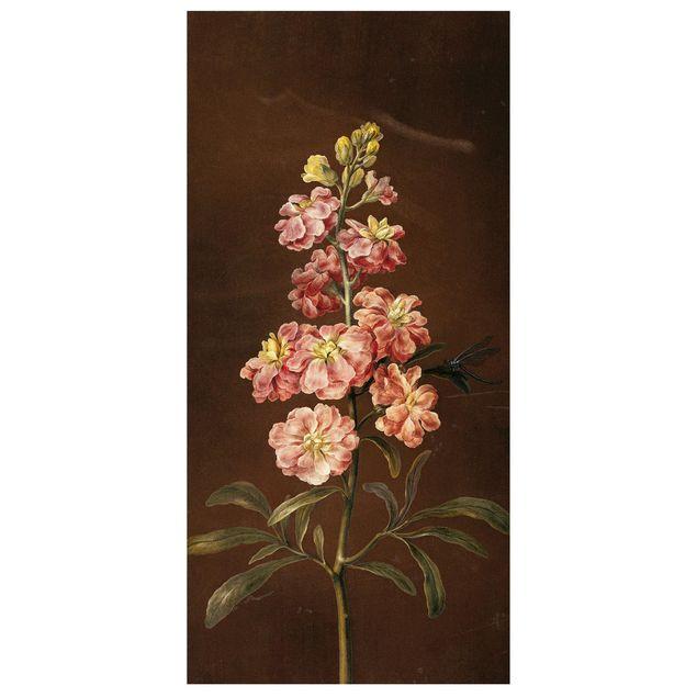 Produktfoto Raumteiler - Barbara Regina Dietzsch - Eine rosa Garten-Levkkoje - 250x120cm