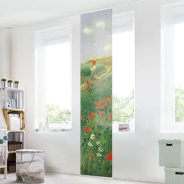 Immagine del prodotto Tenda scorrevole set - Pál Szinyei-Merse - Paesaggio estivo con una fioritura di papavero - Pannello