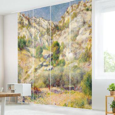 Immagine del prodotto Tende scorrevoli set - Auguste Renoir - Rock In Estaque - 4 Pannelli