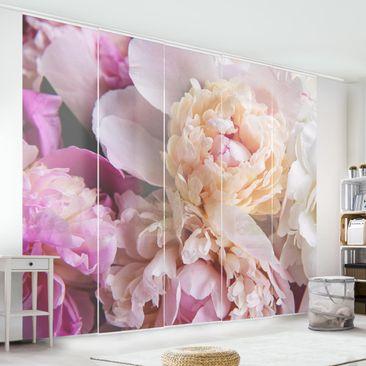 Immagine del prodotto Tende scorrevoli set - Blooming Peony - 5 Pannelli