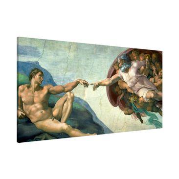 Immagine del prodotto Lavagna magnetica - Michelangelo - Cappella Sistina - Panorama formato orizzontale
