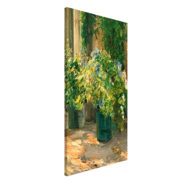 Immagine del prodotto Lavagna magnetica - Max Liebermann - Vaso da fiori in davanti alla casa - Formato verticale 4:3