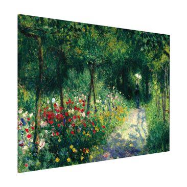 Produktfoto Magnettafel - Auguste Renoir - Frauen im Garten - Memoboard Querformat 3:4