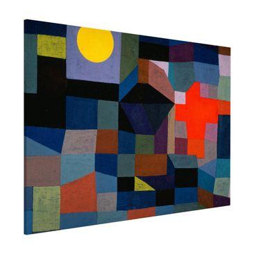 Produktfoto Magnettafel - Paul Klee - Feuer bei Vollmond - Memoboard Querformat 3:4