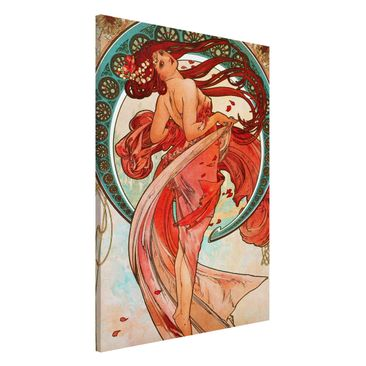 Product picture Magnetic Board - Alfons Mucha - Four...