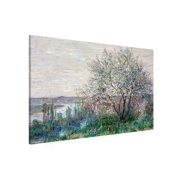 Produktfoto Magnettafel - Claude Monet - Frühlingsstimmung - Memoboard Querformat 2:3