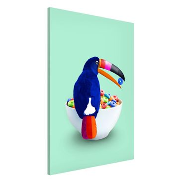 Product picture Magnetic Board - Breakfast With Toucan -...