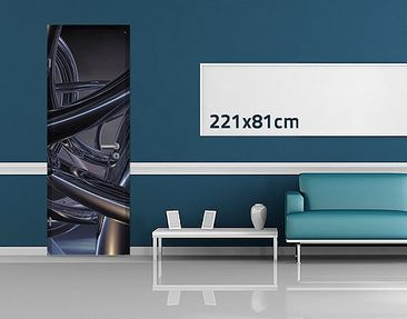 Product picture Door Wall Mural Space Stitch