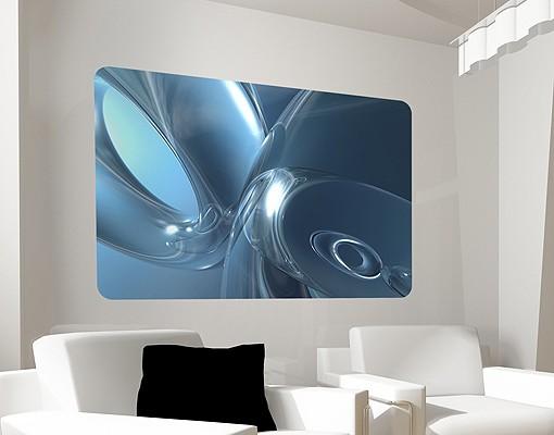 Produktfoto Selbstklebendes Wandbild Underwater Universe