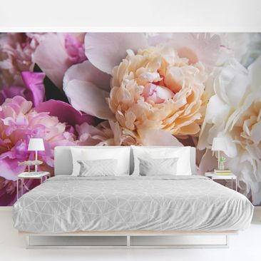 Product picture Photo Wall Mural - Blooming Peony -...