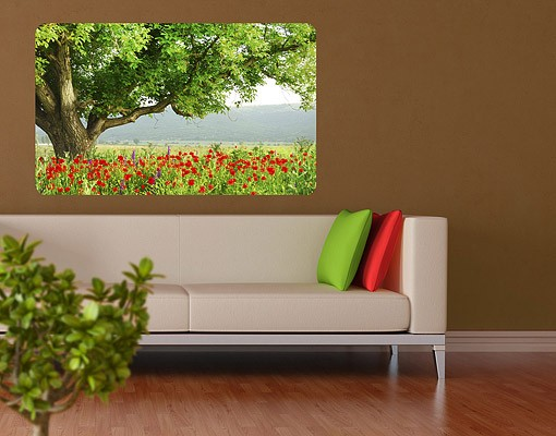 Produktfoto Selbstklebendes Wandbild Sommerwiese