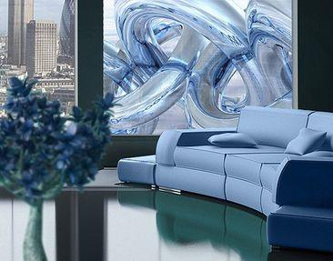Produktfoto Window Mural Frosty Chains