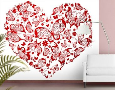 Product picture Photo Wall Mural Heart Made Of...