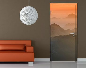 Product picture Door Wall Mural View Of The Zugspitze