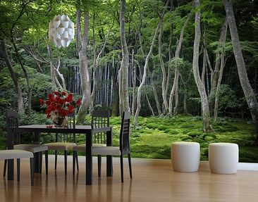 Produktfoto Photo Wall Mural Japanese Forest