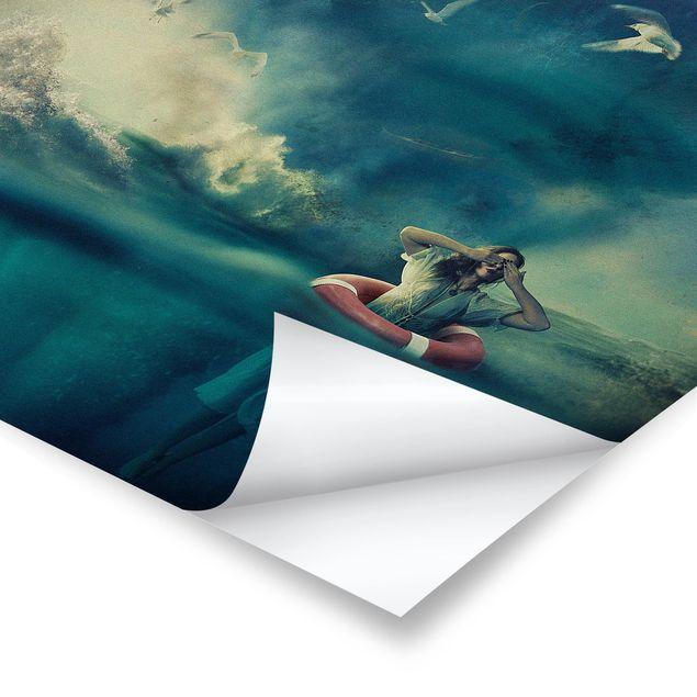Produktfoto Poster - Lost - Quadrat 1:1