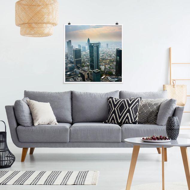 Produktfoto Poster - Modern Architecture - Quadrat 1:1
