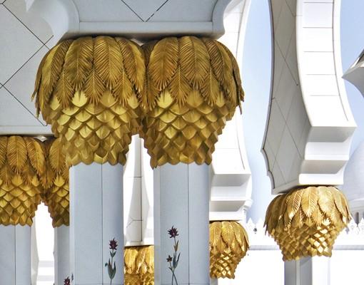 Produktfoto 3D Fototapete selbstklebend - Moschee in Abu Dhabi