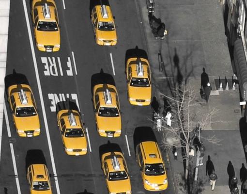 Produktfoto Selbstklebendes Wandbild Taxiverkehr in Manhattan