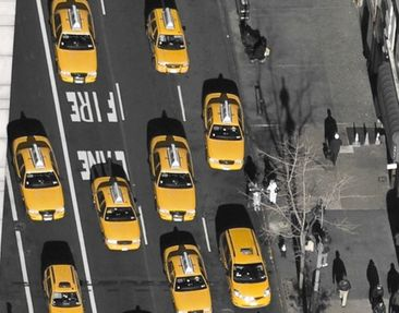 Product picture Wall Mural Taxi in Manhattan