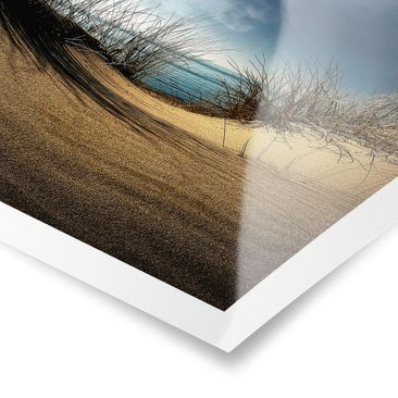 Product picture Poster - Sand Dune - Square Format 1:1