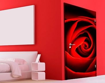 Product picture Door Wall Mural Lovely Rose