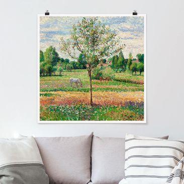 Immagine del prodotto Poster - Camille Pissarro - Prato con la muffa - Quadrato 1:1