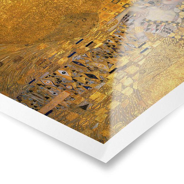 Produktfoto Poster - Gustav Klimt - Adele Bloch-Bauer I - Quadrat 1:1