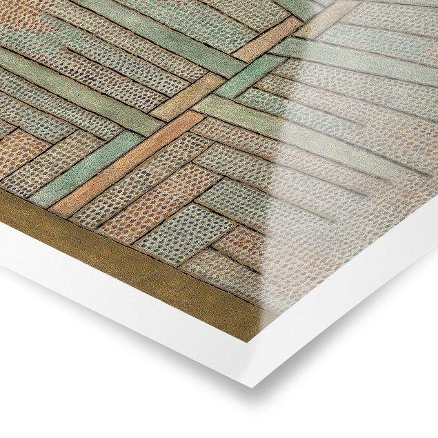 Produktfoto Poster - Paul Klee - Kiefer - Quadrat 1:1