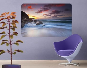 Product picture Wall Mural At The Sea In Cornwall