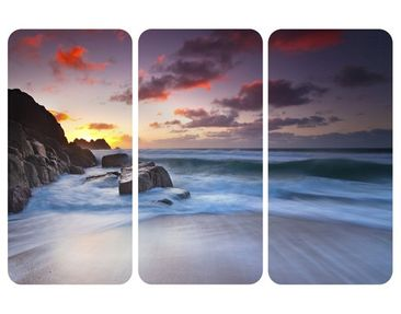 Product picture Wall Mural At The Sea In Cornwall...