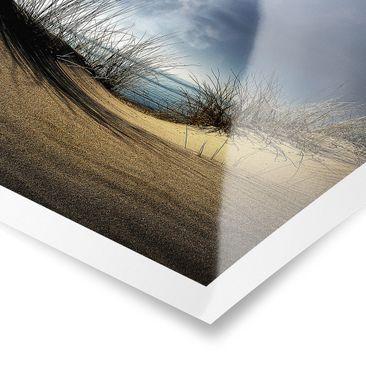 Product picture Poster - Sand Dune - Landscape Format...