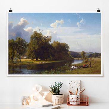 Immagine del prodotto Poster - Albert Bierstadt - Riverside - Orizzontale 2:3
