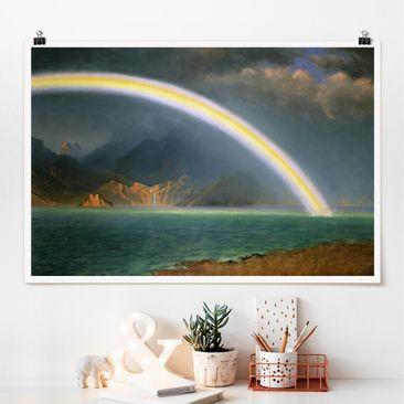 Immagine del prodotto Poster - Albert Bierstadt - Rainbow Sopra Jenny Lake - Orizzontale 2:3