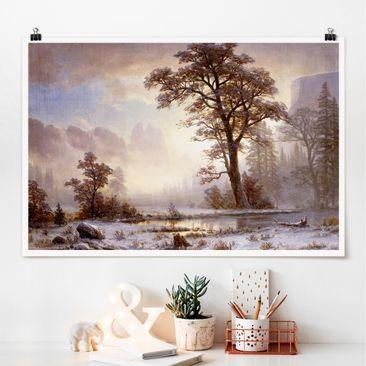 Immagine del prodotto Poster - Albert Bierstadt - Yosemite Valley durante la nevicata - Orizzontale 2:3