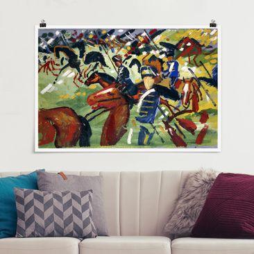 Immagine del prodotto Poster - August Macke - Ussari In movimento - Orizzontale 2:3