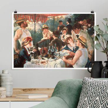 Produktfoto Poster - Auguste Renoir - Das Frühstück der Ruderer - Querformat 2-3 Material matt Artikelnummer 260988-CU