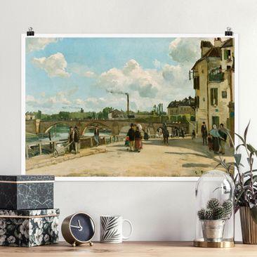 Immagine del prodotto Poster - Camille Pissarro - Vista Di Pontoise - Orizzontale 2:3